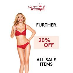 [Triumph] ⏰Further 20% OFF Sale Items! Ends Midnight!