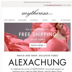 [mytheresa] Alexa Chung's new brand has arrived + free shipping