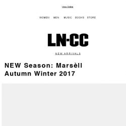 [LN-CC] Marsèll: an unconventional luxury footwear brand with a heritage-inspired aesthetic + Free Shipping