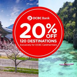 AirAsia: Enjoy 20% OFF Flights to over 120 Destinations with OCBC Cards!