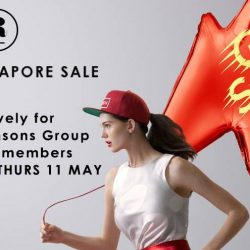 Robinsons: Great Singapore Sale with Up to 70% OFF