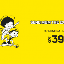 Scoot / Tigerair: Mother's Day Sale Fares to 57 Holiday Destinations from $39!