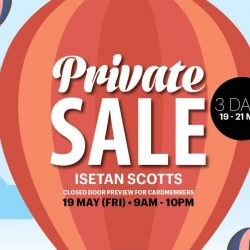 Isetan: Private Sale Closed Door Preview for Cardmembers & Coach Sale Up to 50% OFF