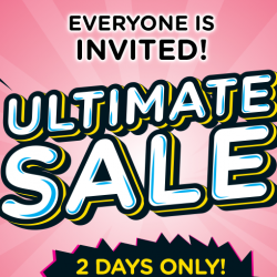 Watsons: 2-Day Ultimate Sale with More than 400 Hot Buys, Buy 1 Get 1 Free Deals & Buy 2 Get 1 Free Deals!
