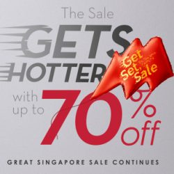 Robinsons: The Sale Gets Hotter with Up to 70% OFF