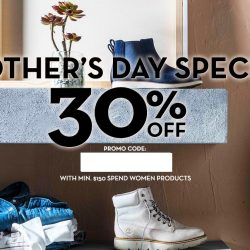 Timberland: Mother's Day Special Online Exclusive - 30% OFF with Min. $150 Spend on Women Products!