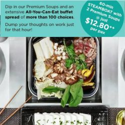 Seoul Garden: Labour Day Lunch Deal in May - All-You-Can-Eat Buffet Steamboat at $12.80++ Per Pax!