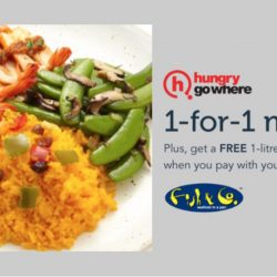 Singtel Exclusive: 1-for-1 Mains at Fish & Co.