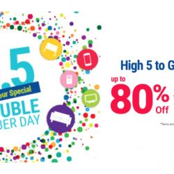 Courts: Double Cyber Day is Back On 5th May 2017 with Up to 80% OFF + Additional 15% OFF with Promo Code!
