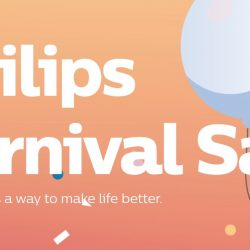 Philips: Carnival Sale with Up to 60% OFF Home Appliances & Personal Grooming Products
