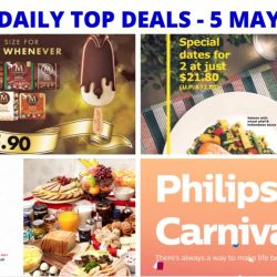 BQ's Daily Top Deals: IKEA 3-Course Meal Offer, IKEA Mother's Day Breakfast Buffet, Magnum Limited Time Offer, Philips Carnival Sale & Latest Taxi Codes!