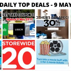 BQ's Daily Top Deals: Latest Taxi Codes, Ben & Jerry's Ice Cream Offer, Timberland 30% OFF, SilkAir Promo Fares, 1-for-1 Movies & More!