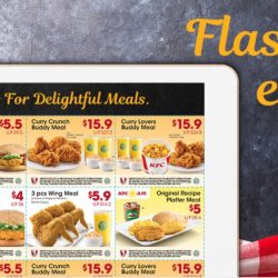 KFC: Save up to $11.40 with Dine-In Coupons