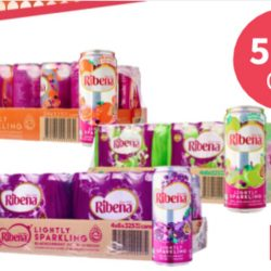 Redmart: 50% OFF Ribena Sparkling for a limited time only!