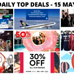 BQ's Daily Top Deals: Singapore Airlines Exceptional Fares with Amex Cards, Sketchers Great Singapore Sale, AirAsia Up to 50% OFF Sale, Isetan Private Sale & Coach Sale, Cotton On 30% OFF & More!