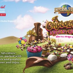 Resorts World Sentosa: A Chocolate Adventure at Universal Studios Singapore