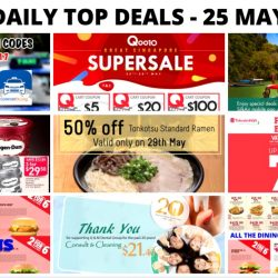 BQ's Daily Top Deals: Save $4 on Grab Rides, Takashimaya Fashion Labels Bazaar, Haagen Daz Ice Cream Offer, Latest Dining E-Coupons for May/June & More!