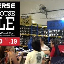 Converse: Warehouse Sale 2017 with Footwear, Apparel & Accessories from $5 Onwards!