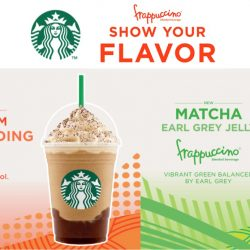 Starbucks: NEW Refreshing Frappuccinos - Irish Cream Coffee Pudding Frappuccino® & Matcha Earl Grey Jelly Frappuccino®