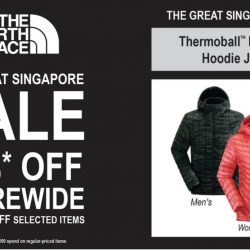 The North Face: Great Singapore Sale - Enjoy 20% OFF on Regular-Priced Items & Up to 40% OFF Selected Items!