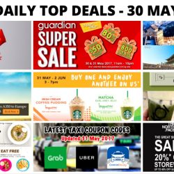 BQ's Daily Top Deals: SQ Special Fares to Europe, 1-for-1 Summer Frappuccino at Starbucks, KOI New Matcha Beverages at All Outlets, Guardian 2-Day Super Sale & More!