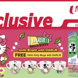NTUC FairPrice: Get FREE Hello Kitty Mugs with Darlie
