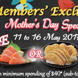 [Watami] Mother's Day is just around the corner!