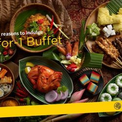 [Maybank ATM] From now till 30 September 2017, enjoy daily 1-for-1 Lunch or Dinner Buffet at Window On The Park