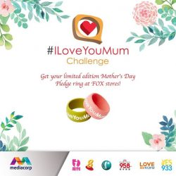 [Fox Fashion Singapore] We're taking part in Toggle's ILoveYouMum challenge for Mother's Day this year!