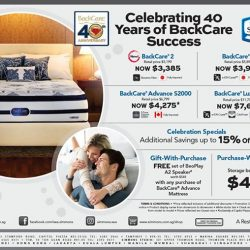 [Simmons] This May, Simmons BackCare celebrates its Ruby Jubilee.