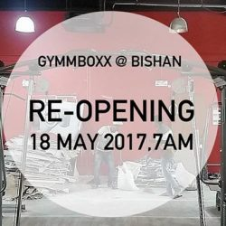 [GYMM BOXX Silver] NOTICE: Renovation works (Bishan CC)Dear Gym-ers, do note that GYMMBOXX @ Bishan CC will be undergoing renovation works, and