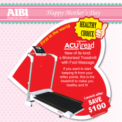 [AIBI] Our Mums deserve The Best for Health, Beauty and Fitness.