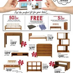 [Isetan] Find the perfect fit for your home at our Scanteak GSS Sale.