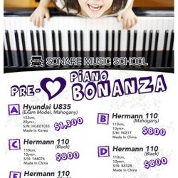 [Sonare Music School] If you've been looking for a new piano, this post is just for you!