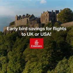 [UOB ATM] From the Big Ben to the Big Apple, enjoy savings for early bird airfares on Emirates to UK & USA with