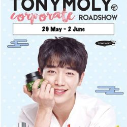 [Tony Moly Singapore] Tonymoly roadshow at Breadtalk IHQ will be happening on the 29th June 2017 to 2nd July 2017 from 11am to