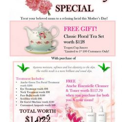 [Allure Beauty Saloon] Mother's Day is around the corner!