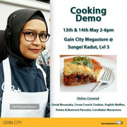 [Gain City] Here's a cooking demo you'd not want to miss!