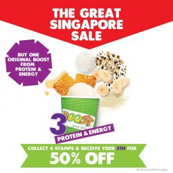 [Boost Juice Bars Singapore] Boost is here for a great deal!