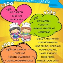 [WESTGATE KIDS CLUB POWERED BY GENIUS R US] Sign up for our school holiday workshops and be rewarded!