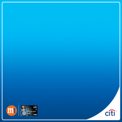 [Citibank ATM] Let your talking do the saving with Citi M1 Card.