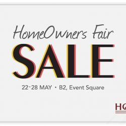 [Home-Fix Singapore] Join us at Homeowners Fair 2017 at Waterway Point between 22 - 28 May and find solutions for your every home