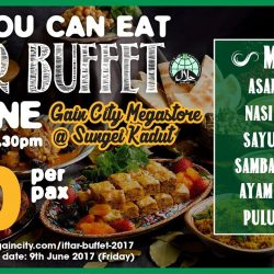 [Gain City] Stir up your inner foodie with a free flow of Halal Malay delicacies set to hit your palette this June,