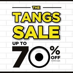 [Tangs] Exciting deals, bargains and MORE at The TANGS Sale!