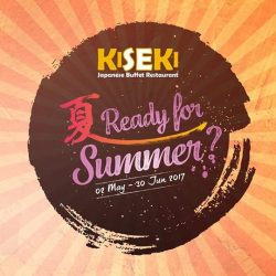 [Kiseki Japanese Buffet Restaurant] BEST of SUMMER thematic promotion presents a selection of NEW buffet items that are worth your visit!