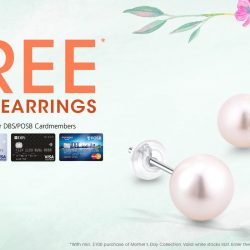 [SK Jewellery] It is the LAST 2 DAYS to enjoy a free pair of Pearl Earrings with min.