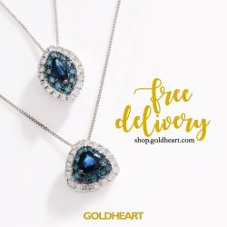 [Goldheart Jewelry Singapore] FREE DELIVERY ShopGoldheartOnline & enjoy FREE delivery in Singapore, till 15 May 2017.