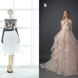 [LA BELLE] Your wedding gown should ideally showcase only one area of focus.