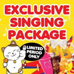 [Manekineko Karaoke Singapore] Enjoy the latest exclusive deal from us!