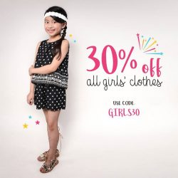 [Fox Fashion Singapore] We've extended our Just For Girls sale!